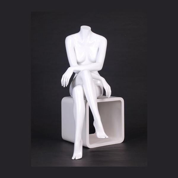 Headless ABS Mannequin Sitting